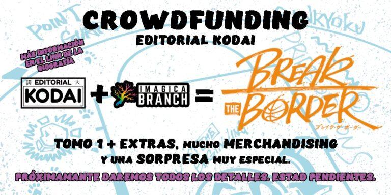 KODAI prepara un nuevo proyecto muy especial: BREAK THE BORDER