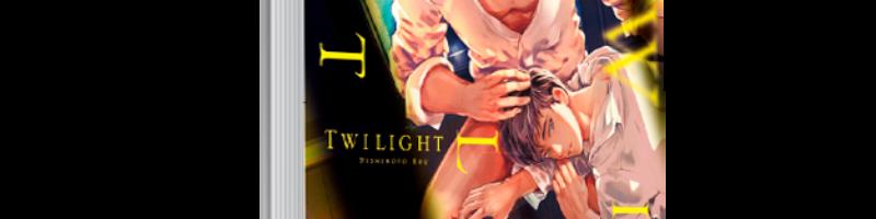 TWILIGHT, de Nishimoto Rou, será el tercer manga BL del catálogo de KODAI!